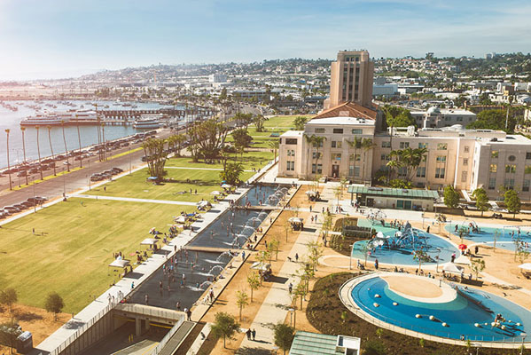 Best of Sandiego Waterfront Park Feature